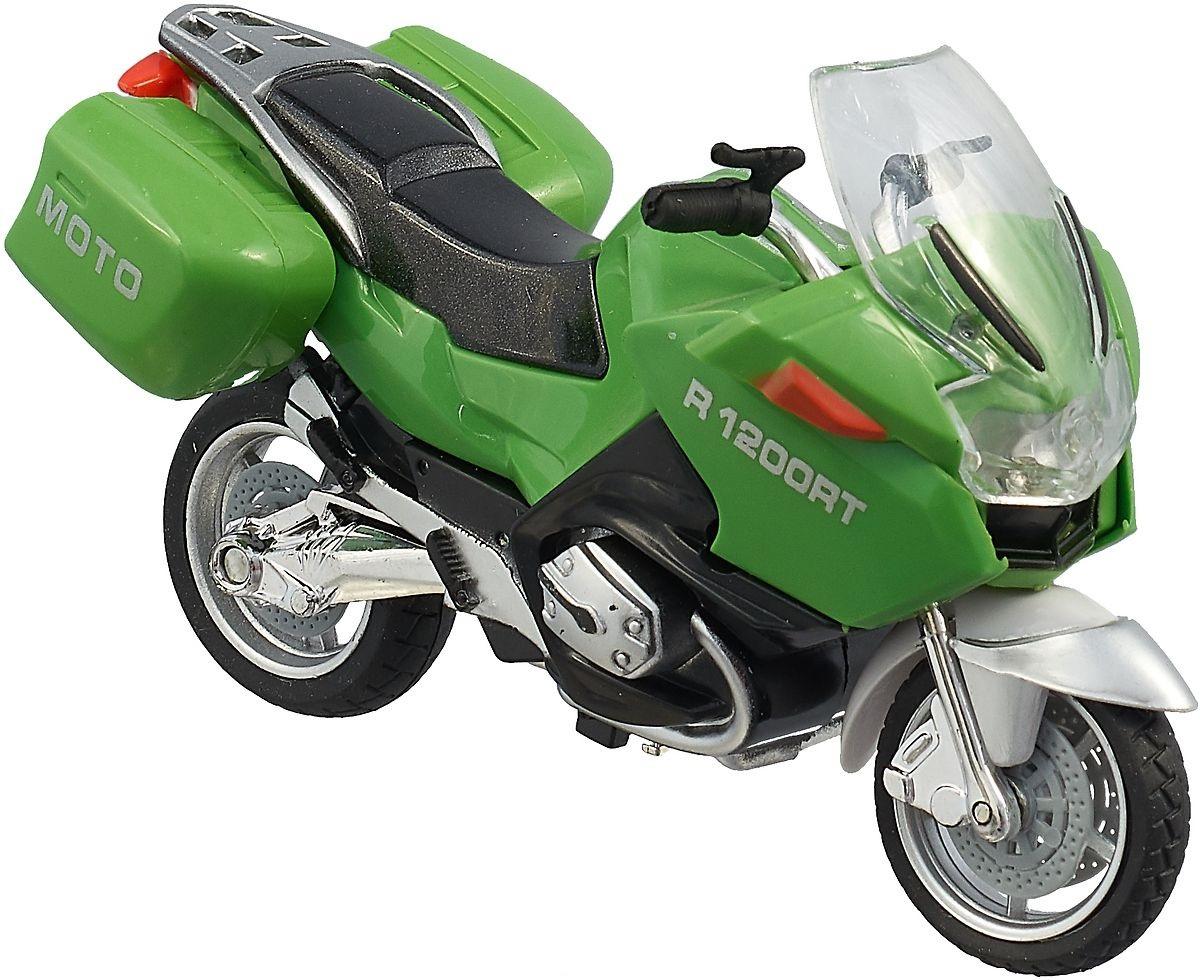 Мотоцикл Технопарк Мотоцикл зеленый 586856 r