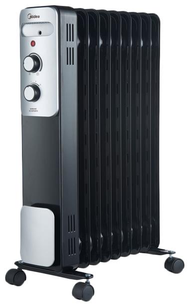 Масляный радиатор Midea MOH3031 черный