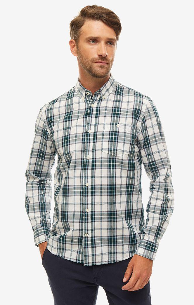 Рубашка мужская TOM TAILOR белая фото