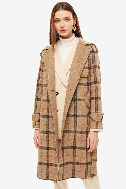 Пальто женское La Biali бежевое