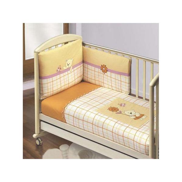 Купить FERETTI Комплект в кроватку Bella (цвет: дыня, 6 предметов лонг) 00-0013990, Комплекты детского постельного белья