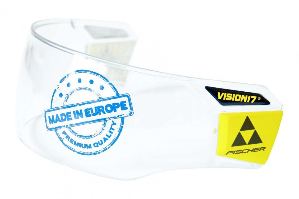 Визор хоккейный Fischer Vision17 Pro H02418 F1, BLKICE