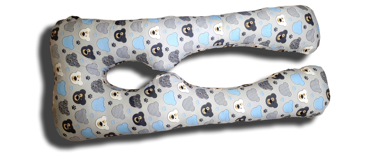 Подушка для беременных TEXXET Евро-360 E360 Мишки