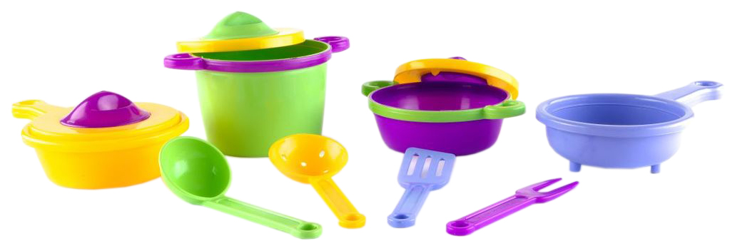 Пластмастер Набор посуды Пластмастер Набор посуды «Эксперт» 11 предметов