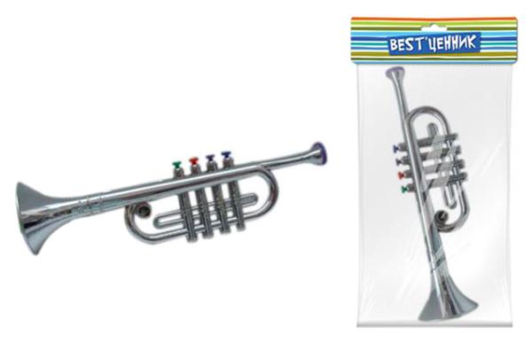 Купить Труба, арт. 100235446, S+S Toys, Детские музыкальные инструменты