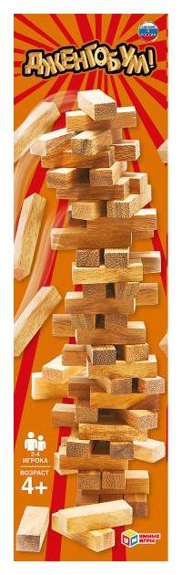 Купить Настольная игра Дженгобум (54 деревянных бруска), Умка, Семейные настольные игры