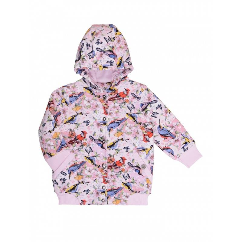 Куртка Мамуляндия, цв. розовый, 98 р-р