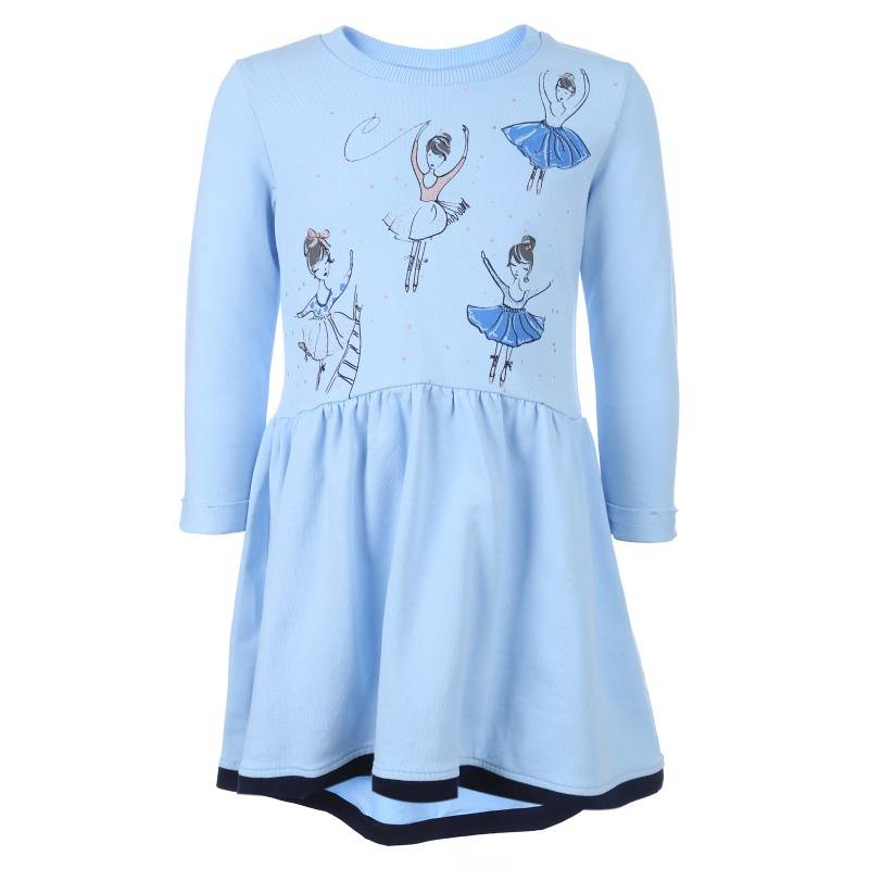Купить Платье Goldy, цв. голубой, 146 р-р, Детские платья и сарафаны
