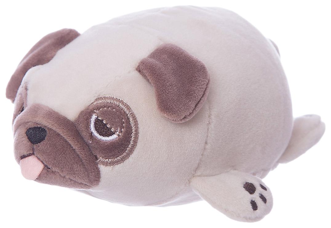 Купить Мопс светло-коричневый, 13 см игрушка мягкая, ABtoys,