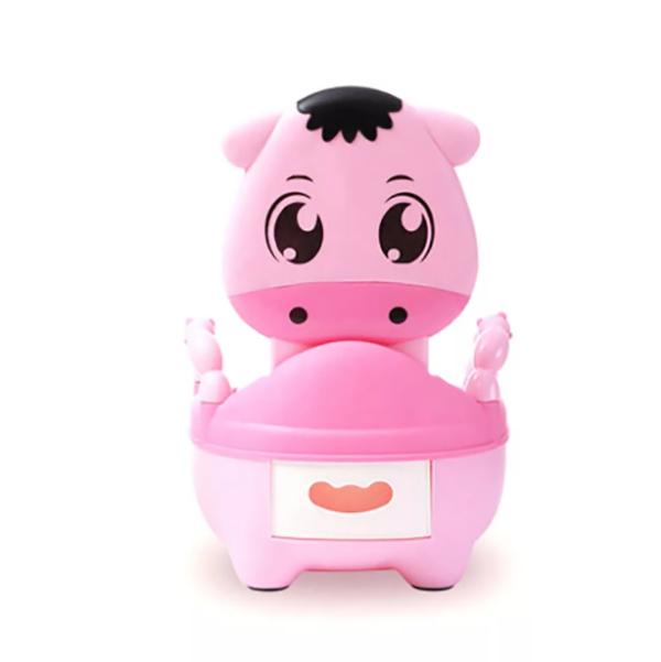 Детский горшок Putiso Теленок розовый 31,5x22x36 см Pituso