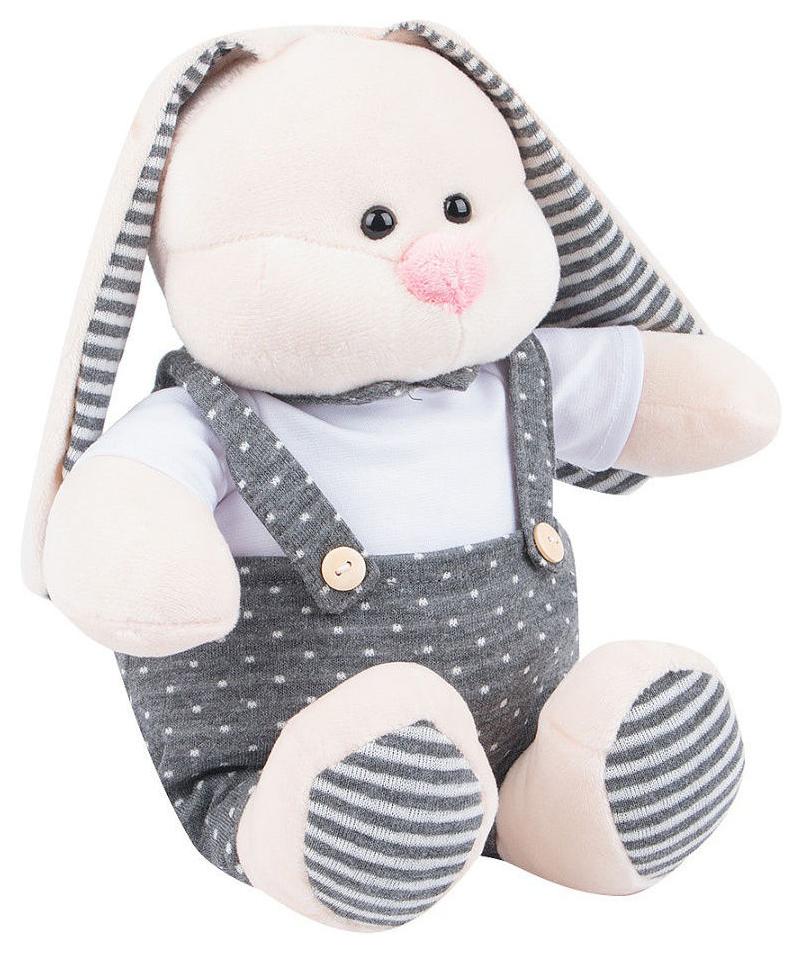Купить Мягкая игрушка Кролик в одежде , 25 см, Игруша, Мягкие игрушки животные