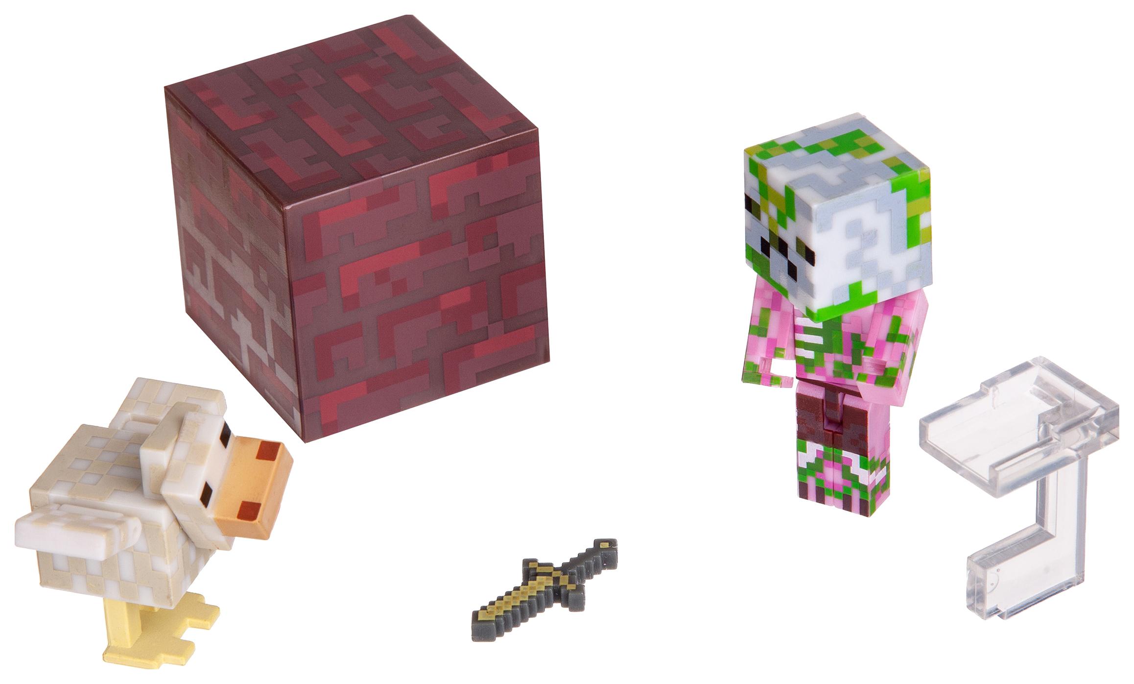 Купить Minecraft 19978 Майнкрафт фигурка Pigman Jockey, Игровые наборы