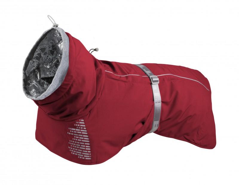 Куртка попона Hurtta Extreme Warmer тёплая красная