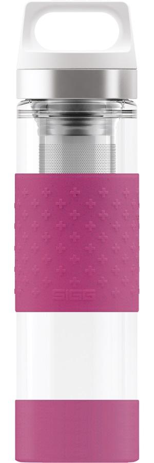 Термос Sigg H&C Glass WMB 0,4 л розовый