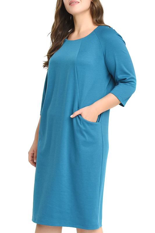 Платье женское SVESTA RKL959MARW голубое 60 RU фото