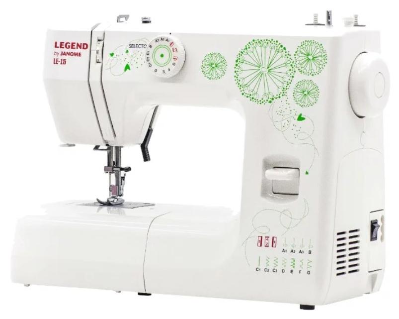 Швейная машина Janome Legend LE15