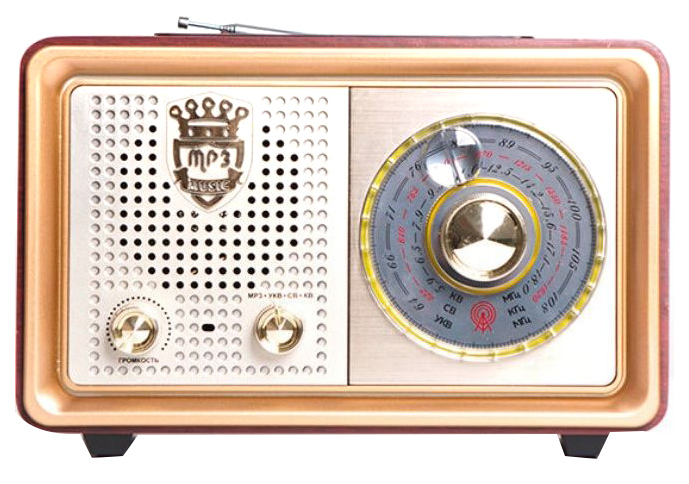 Радиоприемник Сигнал БЗРП РП-324 Коричневый (19341)