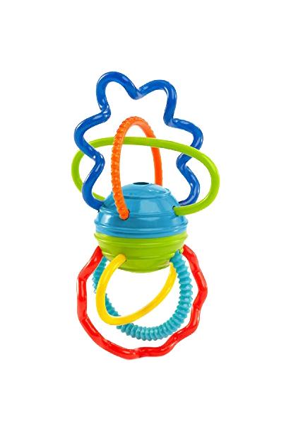 Развивающая игрушка Oball Разноцветная гантелька.