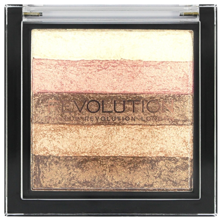 Хайлайтер Makeup Revolution Vivid Shimmer Brick Radiant