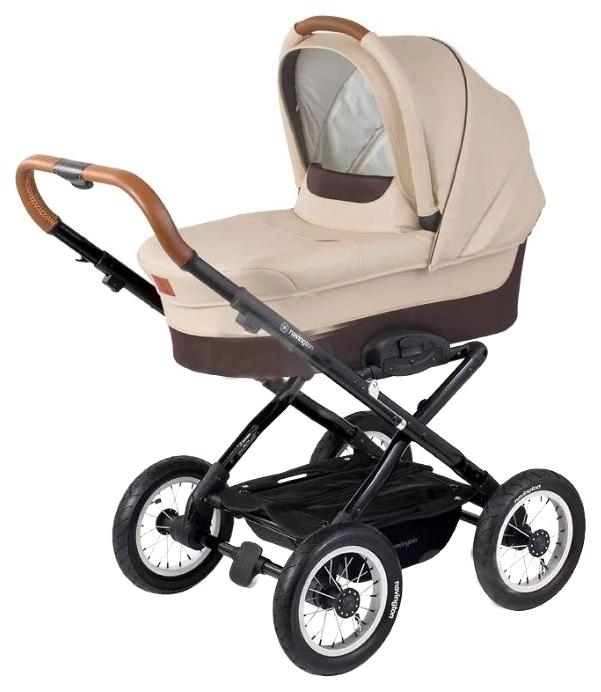 Купить Коляска для новорожденного Navington Corvet колеса 12 Royal Sand, Коляски для новорожденных