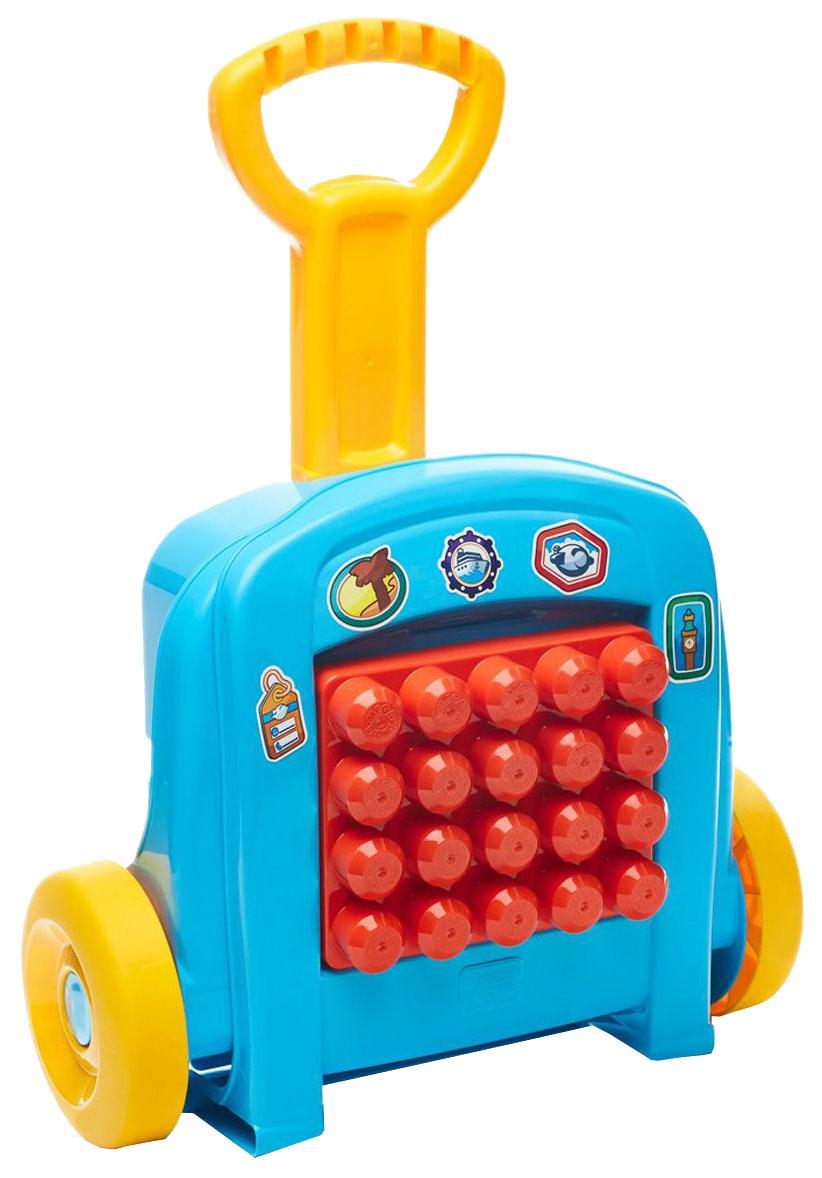 Купить Мобильный конструктор Mega Bloks Чемоданчик Mattel FLT37, Конструкторы пластмассовые