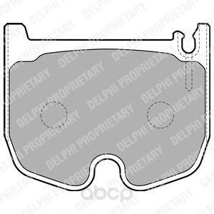 Комплект тормозных колодок Delphi LP1841 фото