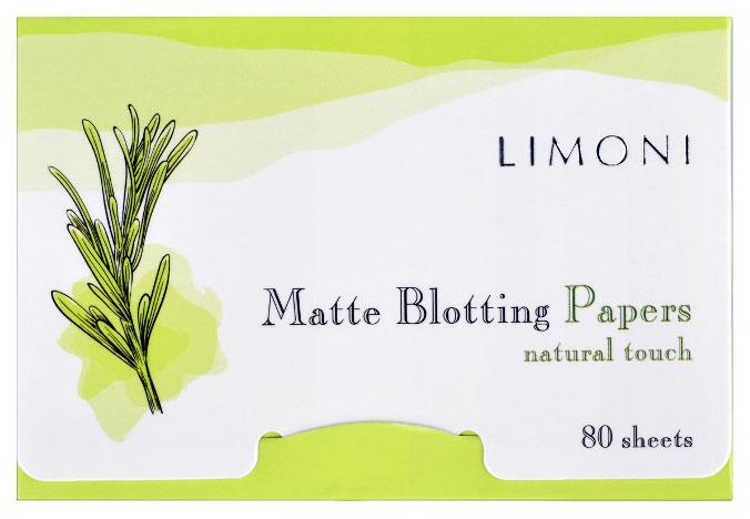 Матирующие салфетки Limoni Matte Blotting Papers