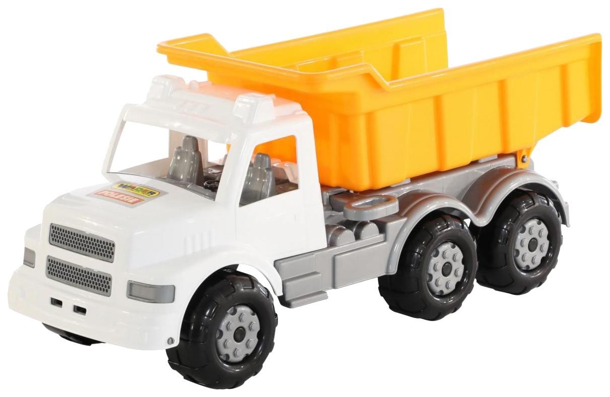 Купить Игрушки, Автомобиль Wader Буран бело-оранжевый,