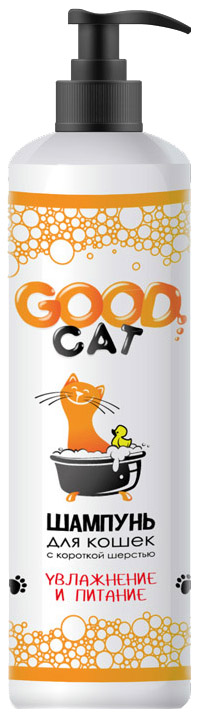 Шампунь для кошек GOOD CAT с короткой