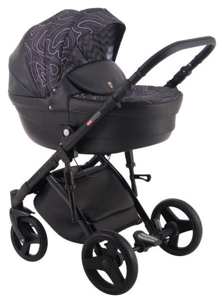 Купить Коляска 2 в 1 Lonex Comfort Gallaxy Black & Ab, Детские коляски 2 в 1