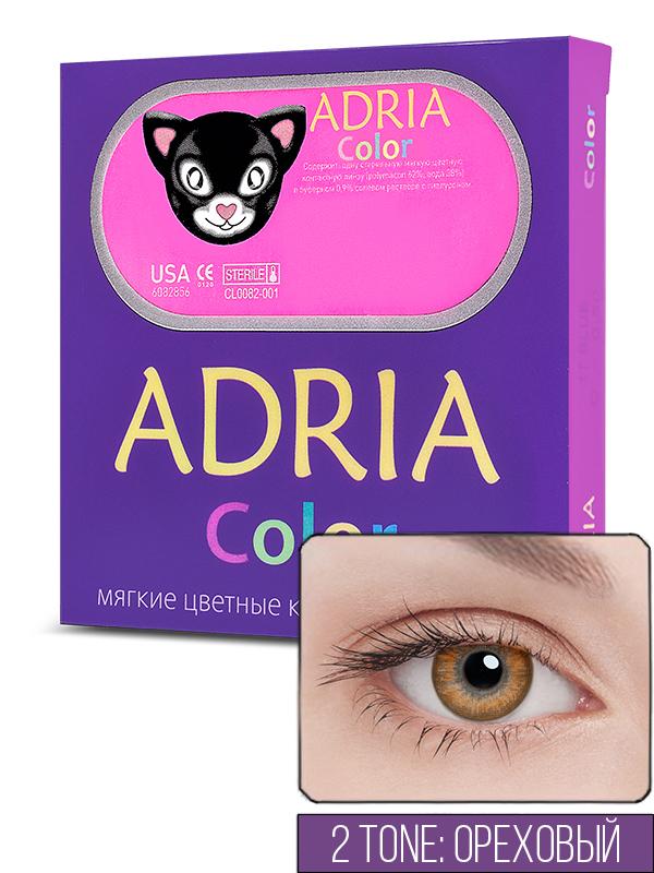 Контактные линзы ADRIA COLOR 2 TONE 2 линзы -10,00 hazel