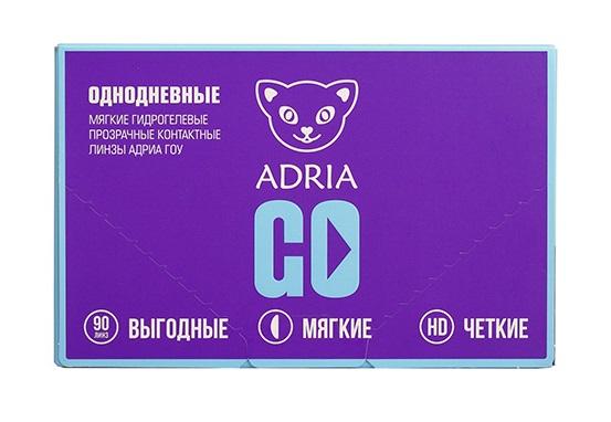 Контактные линзы ADRIA GO 90 линз -4,75