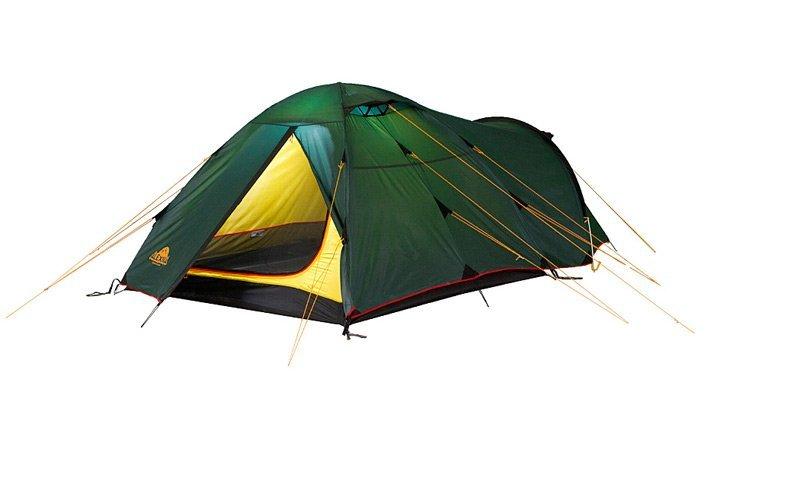Палатка Alexika Tower трехместная зеленая