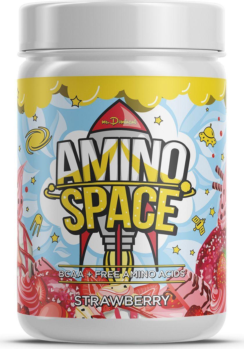 Mr. Dominant Amino Space 300 г клубника фото
