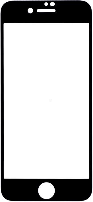 Защитное стекло GOSSO CASES для Apple iPhone 8/iPhone 7/iPhone 7S Black