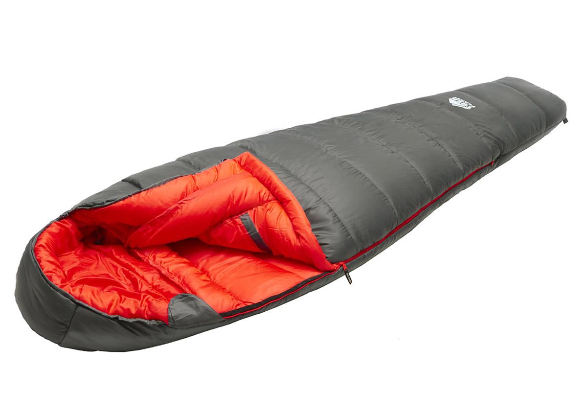 Спальный мешок Trek Planet Suomi серый, правый