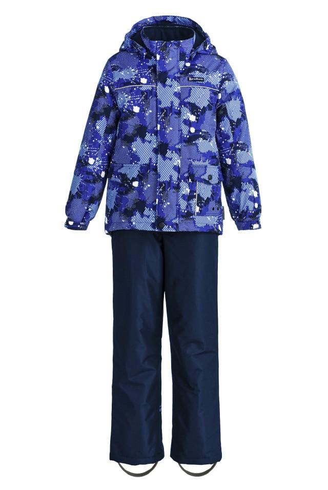 Купить Sp92203 blue, Комплект демисезонный: куртка и брюки Premont SP92203 синий р.128, Комплекты верхней одежды для мальчиков