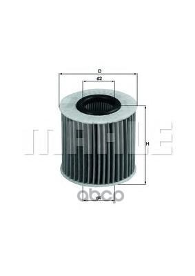 Масляный фильтр KNECHT OX 414D2