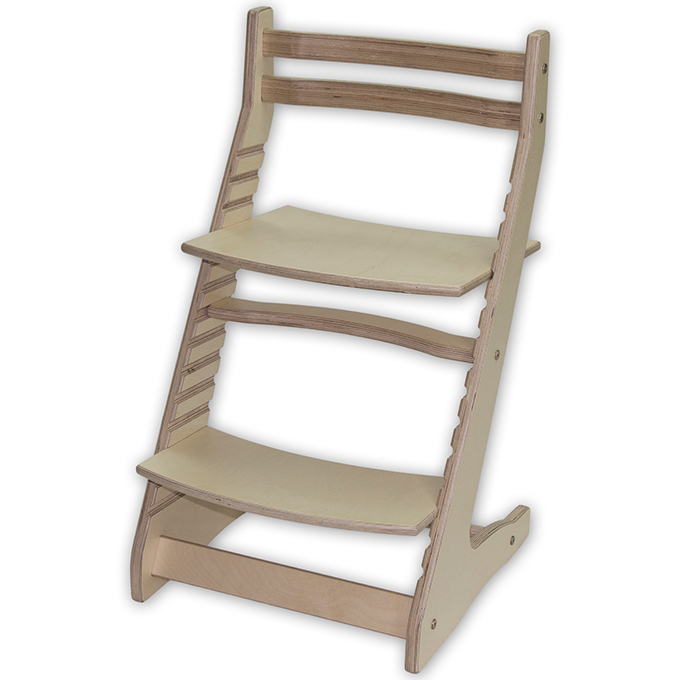 Детский растущий стул Вырастайка без покрытия