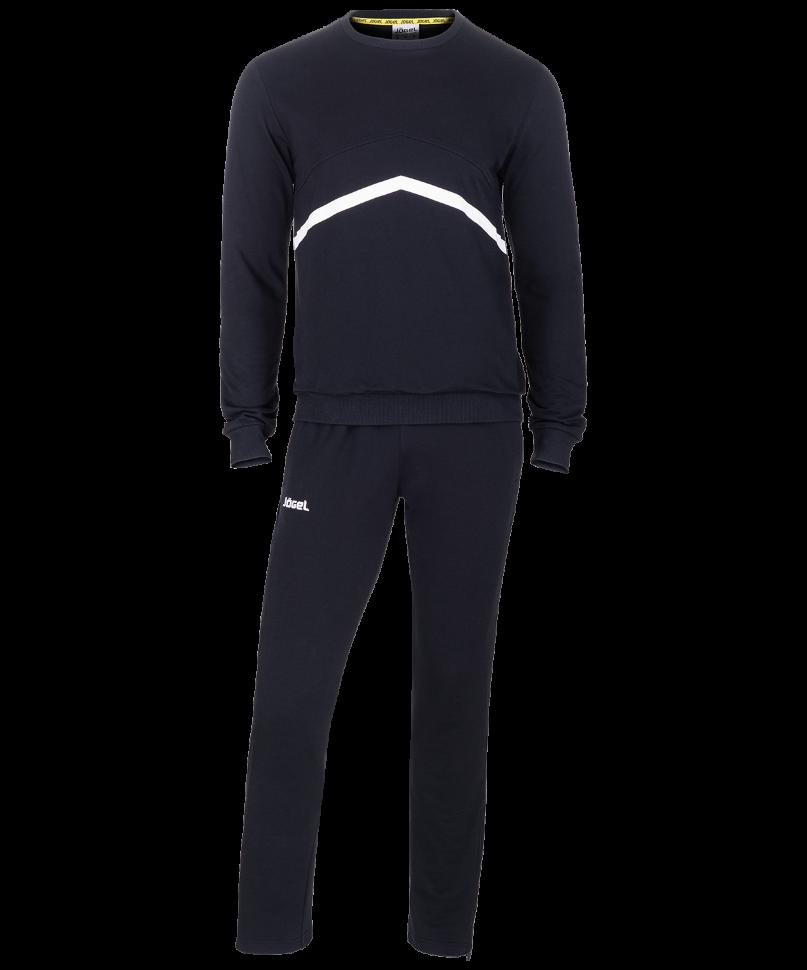 Спортивный костюм Jogel JCS-4201-061, черный/белый, M INT