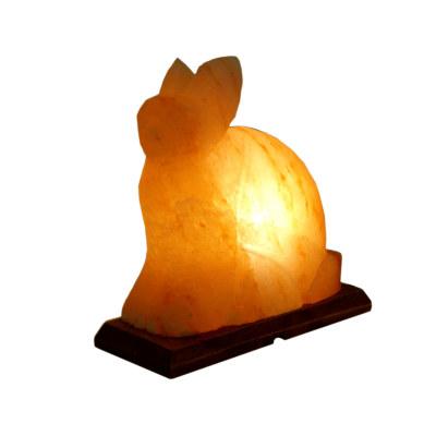 Соляная лампа Кролик с диммером