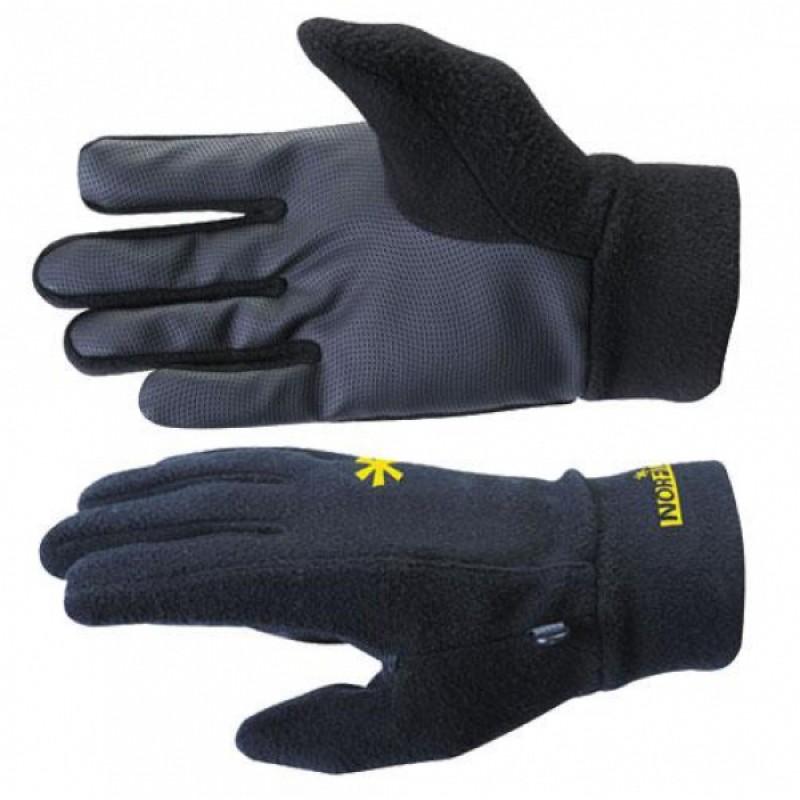 Перчатки мужские Norfin Storm, черные/желтые, XL