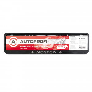Рамка для номера Autoprofi RAM MOSCOW