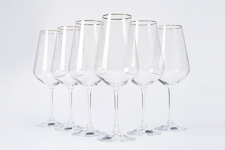 Набор бокалов для вина 550 мл Hoff