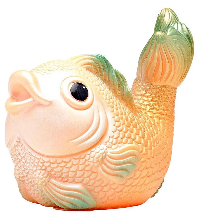 Купить Резиновая игрушка Огонек рыбка ванда ОГ780, Игрушки для купания