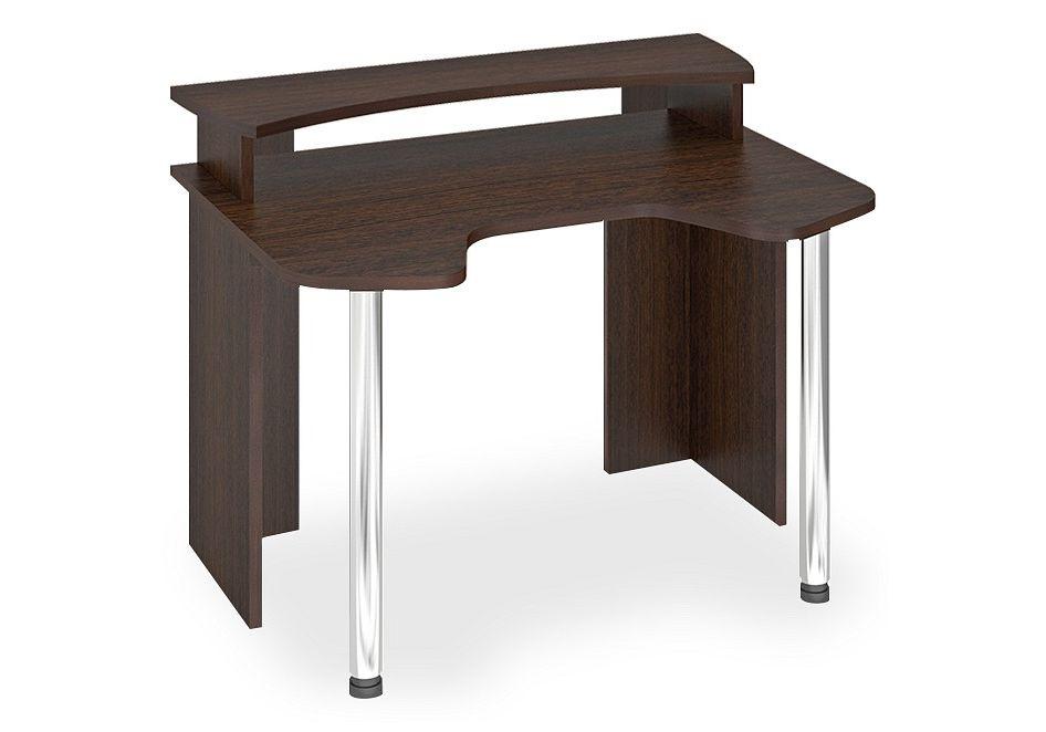 Компьютерный стол в комплекте Мэрдэс Лайт СКЛ-Игр120+НКИЛ120 120x90x94,5, венге фото