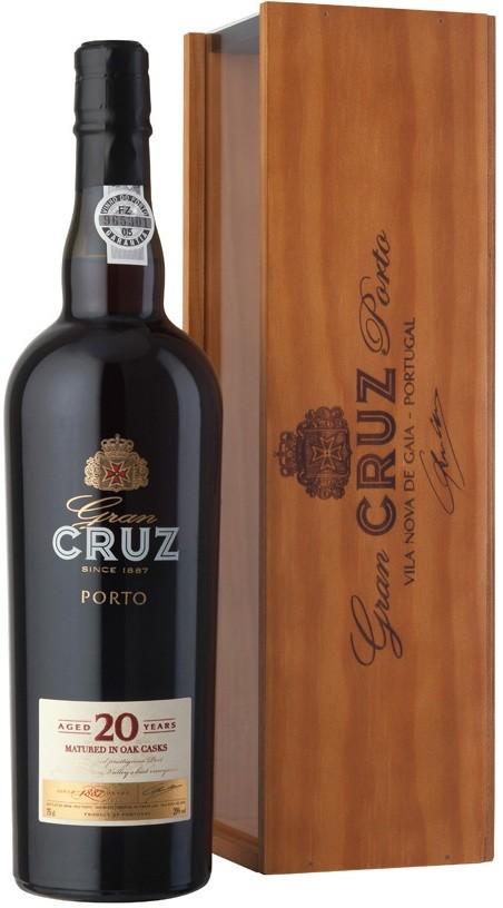 Портвейн Porto Gran Cruz 20 Years Old in wooden box по цене 7 482