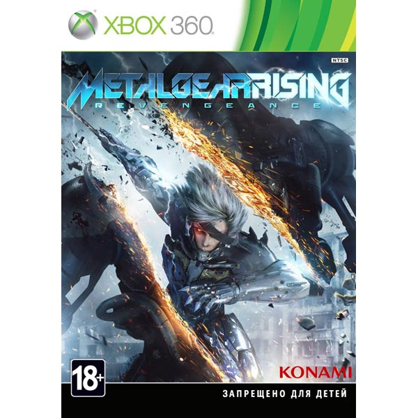 Игра Metal Gear Rising: Revengeance для Xbox