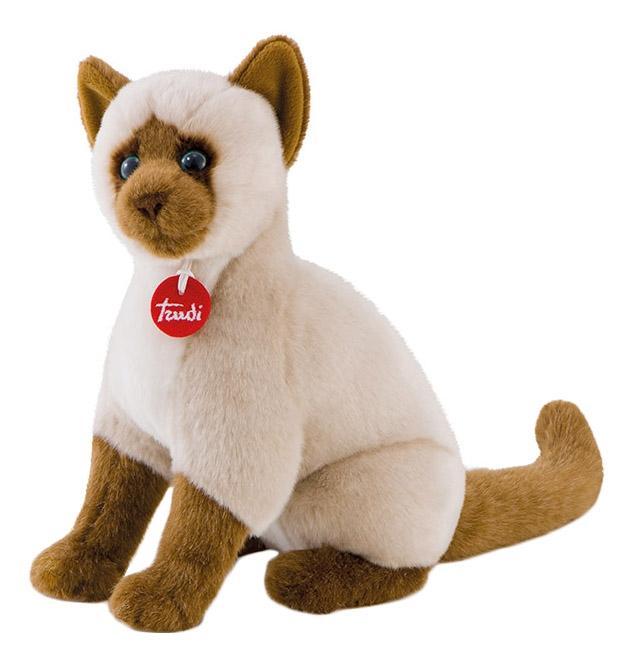 Мягкая игрушка Trudi Сиамская кошка Грета, 31 см сидячая