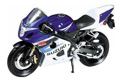 Купить Suzuki GSX-R750, Коллекционная модель Welly 12803p 1:18, Коллекционные модели